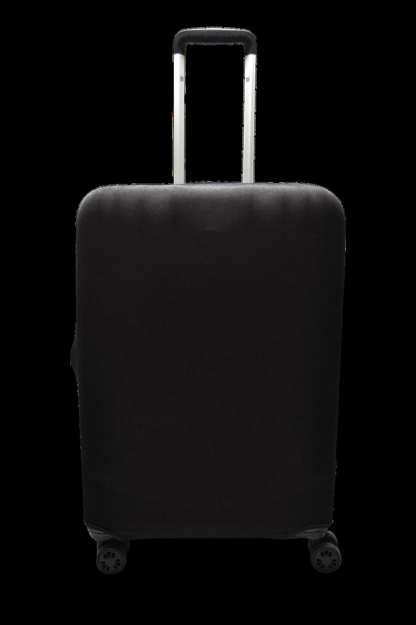 Чехол для чемодана  Coverbag микродайвинг L черный