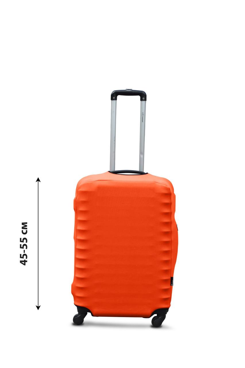 Чехол для чемодана  Coverbag  дайвинг  S оранжевый