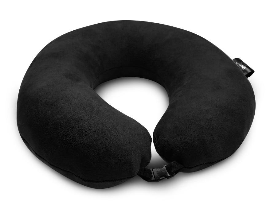 Подушка Coverbag для путешествий чорная