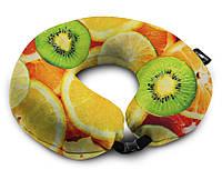 Подушка дорожная Coverbag фрукты 0407
