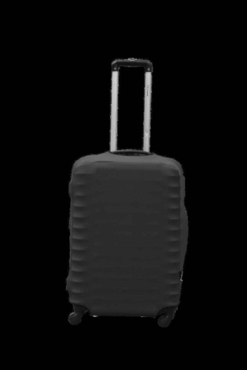 Чехол для чемодана  Coverbag дайвинг  M графит