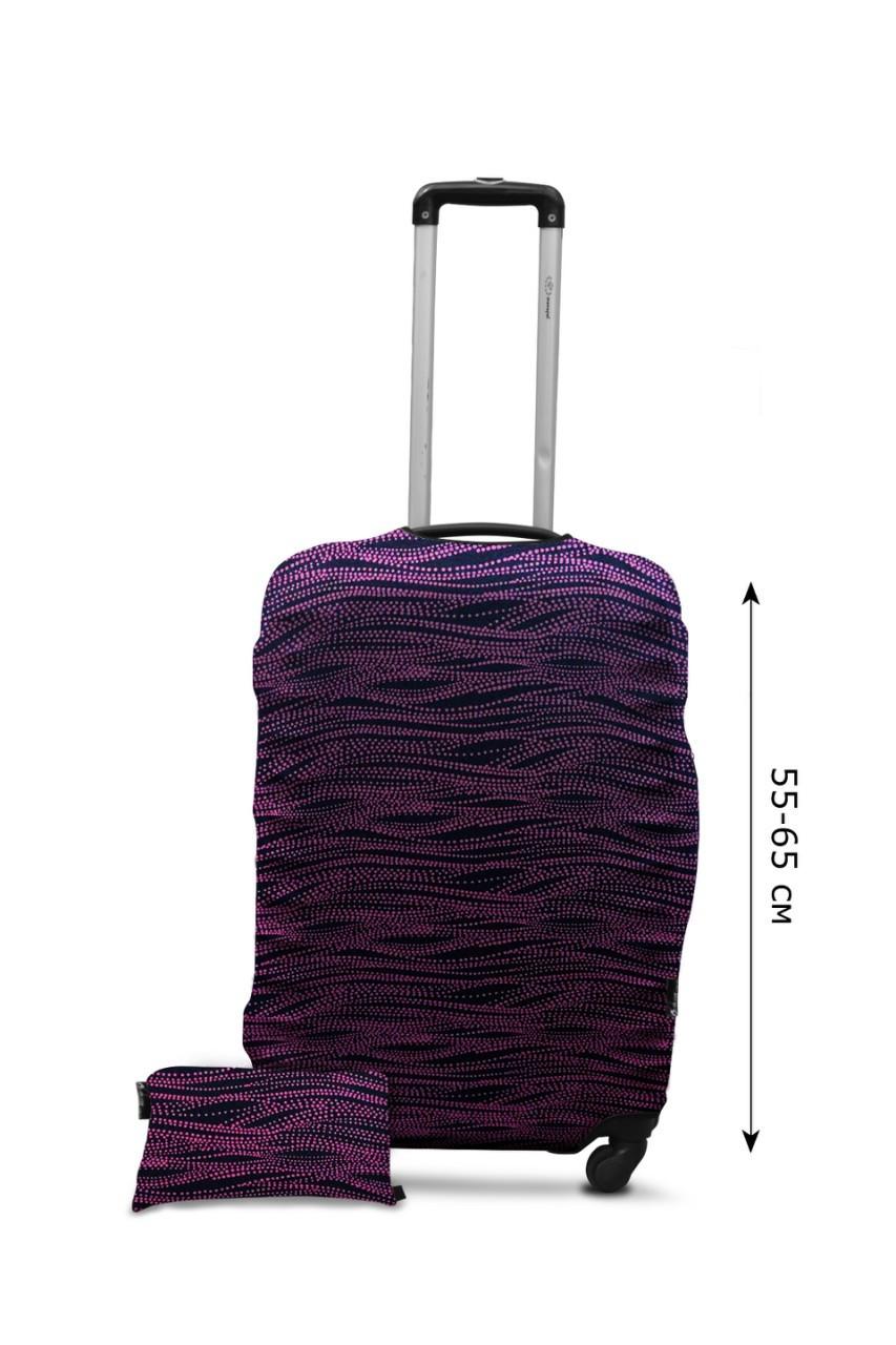 Чехол для чемодана  Coverbag дайвинг  M волны