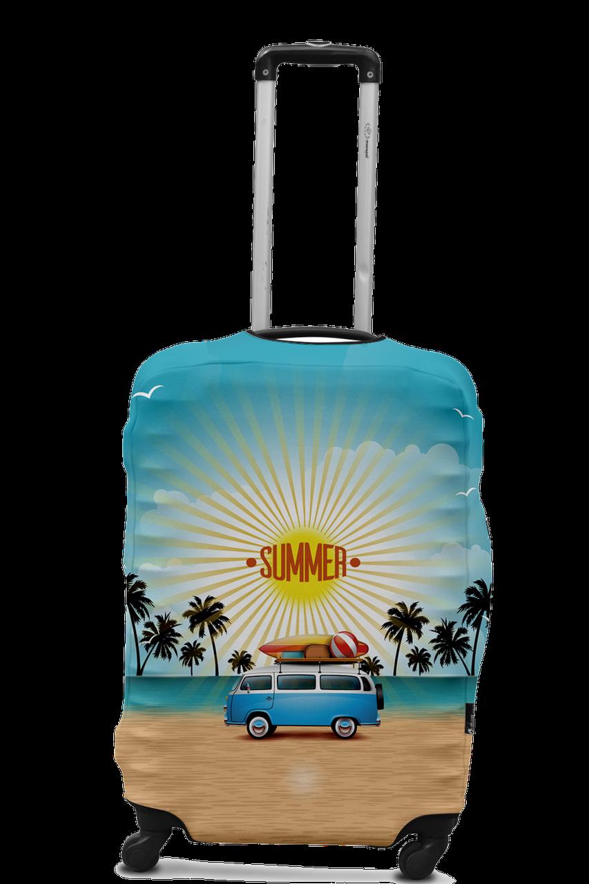 Чехол для чемодана Coverbag минивен  L разноцветный