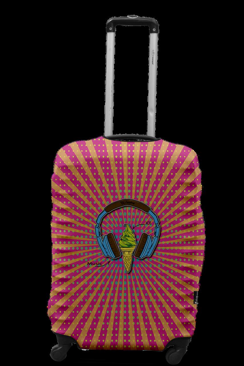 Чехол для чемодана Coverbag наушники L разноцветный