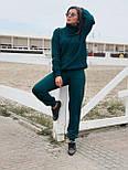 Женский вязаный костюм на шерстяной основе, фото 5