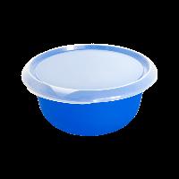 Миска пластиковая пищевая с крышкой Алеана 2,75 л