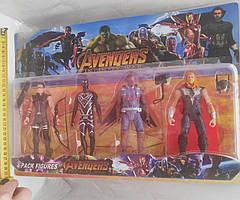 Набор супергерои Марвел: Пантера, ТОР, Соколинный Глаза