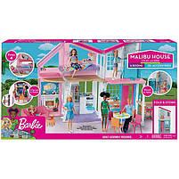 Дом Мечты Барби Малибу Двухэтажный на 6 комнат / Barbie Malibu House FXG57, фото 7