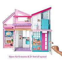 Дом Мечты Барби Малибу Двухэтажный на 6 комнат / Barbie Malibu House FXG57, фото 3