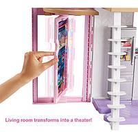 Дом Мечты Барби Малибу Двухэтажный на 6 комнат / Barbie Malibu House FXG57, фото 4
