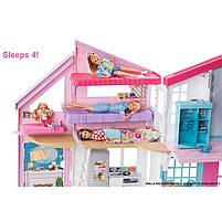 Дом Мечты Барби Малибу Двухэтажный на 6 комнат / Barbie Malibu House FXG57, фото 6