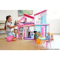 Дом Мечты Барби Малибу Двухэтажный на 6 комнат / Barbie Malibu House FXG57, фото 5