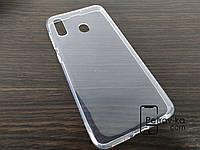 Чехол для смартфона Samsung A20/A30 силиконовый прозрачный