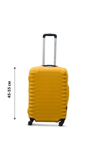 Чехол для чемодана  Coverbag дайвинг S желтый