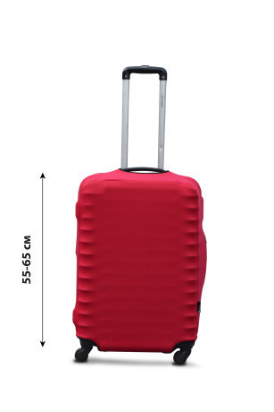 Чехол для чемодана  Coverbag дайвинг  M красный