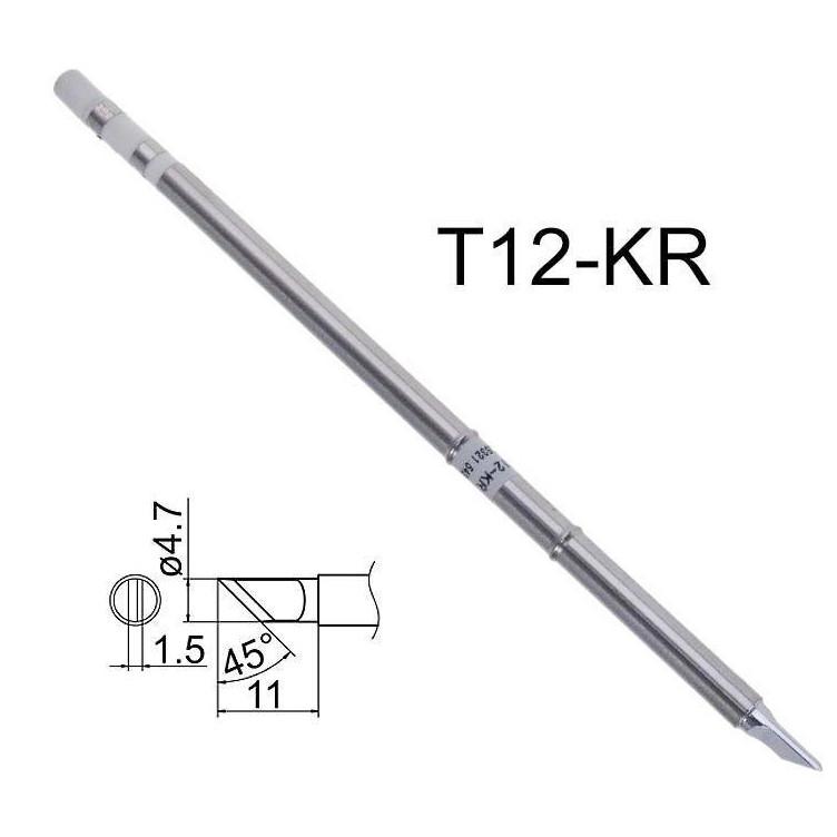 Жало T12-KR с нагревателем