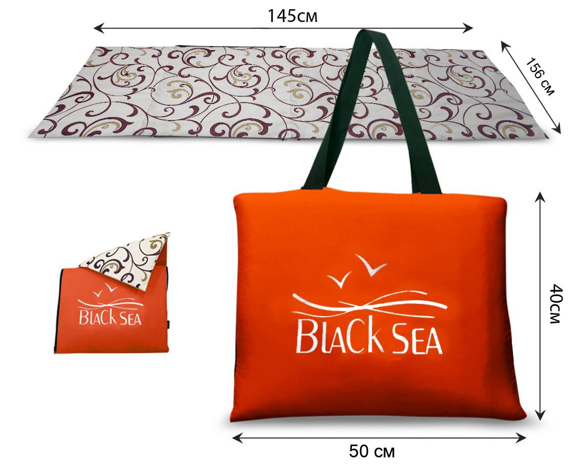 Сумка-коврик NEW  Coverbag XL коричневый