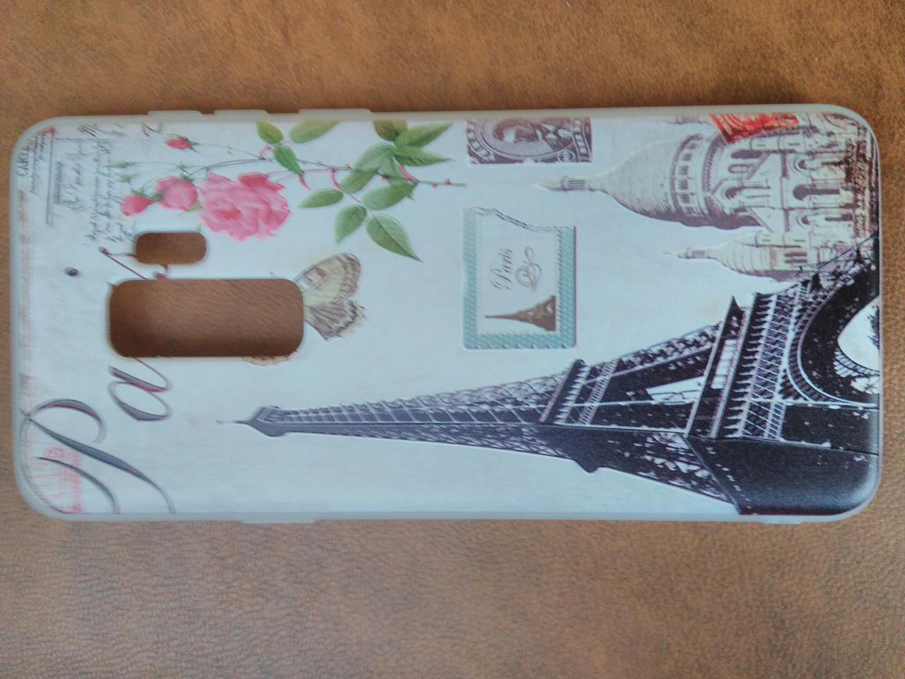 Накладка Прованс силіконова з малюнком Samsung S9 Plus
