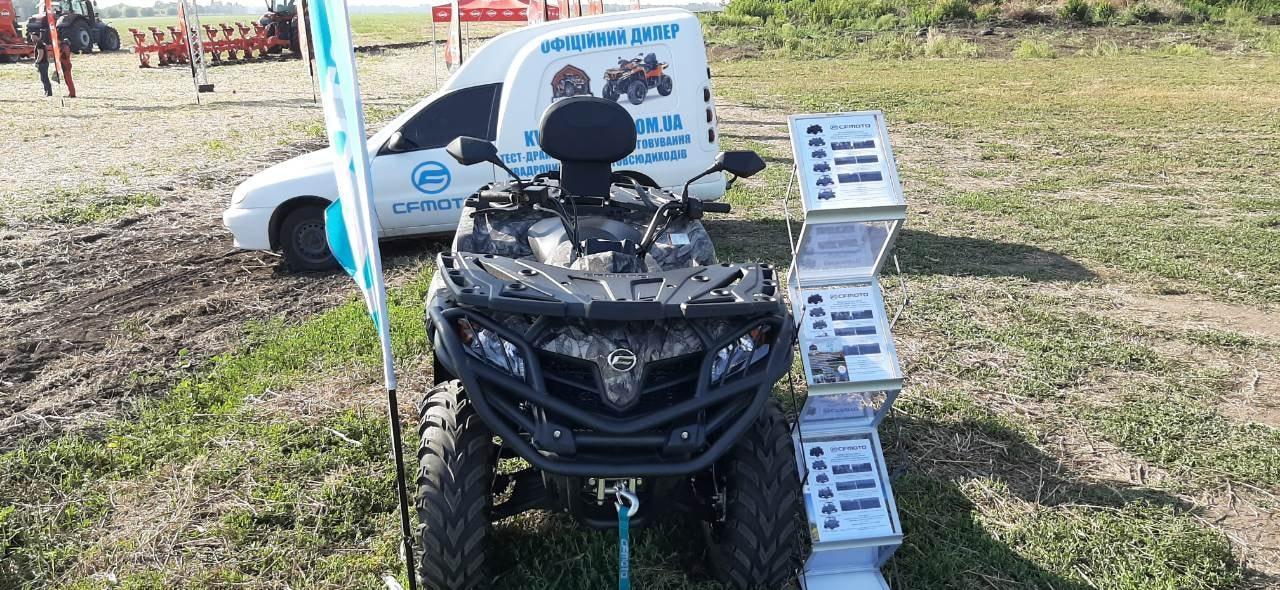 Кенгурятник защитный для квадроцикла CFMOTO 450L /EPS / BASIC 2016-2019