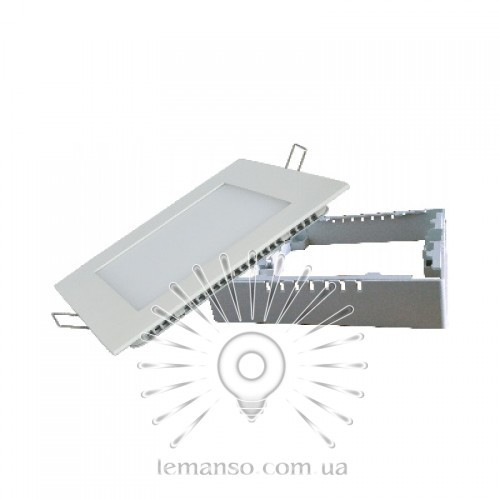 LED панель ABS Lemanso 12W 900LM 6500K квадрат / LM474