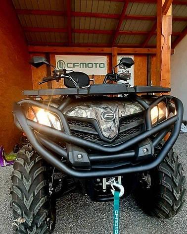 Кенгурятник защитный для квадроцикла CFMOTO 450L /EPS / BASIC 2016-2019, фото 2