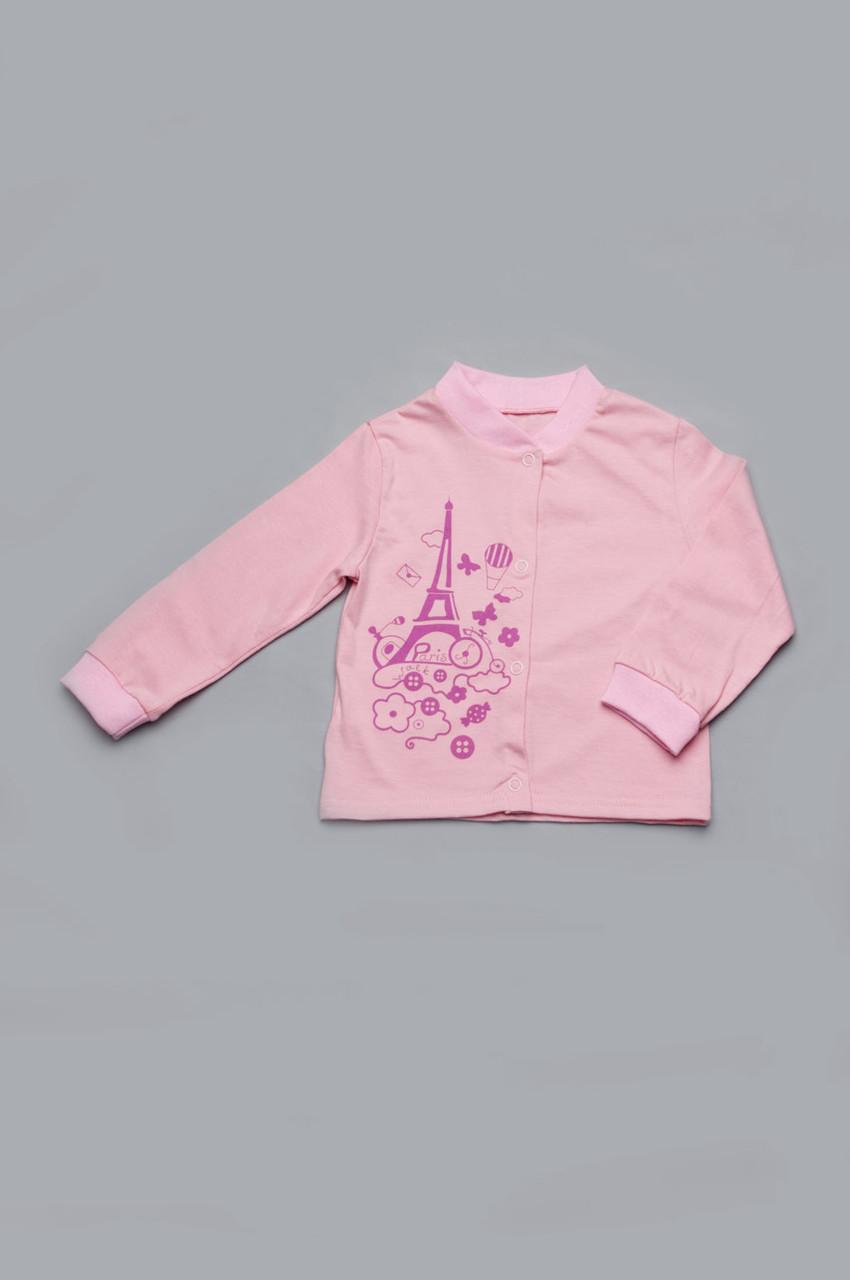 Кофточка для новорожденных девочек (розовая)