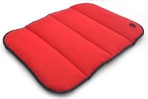 Матрас коврик для собак и котов Loft №2 50х70 см красный + серый