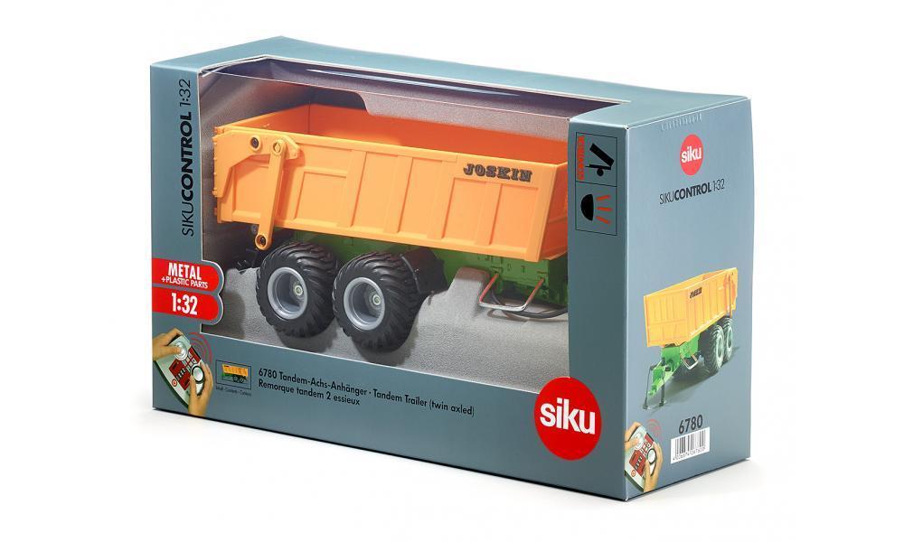 Игрушка радиоуправляемая Siku Тракторный прицеп Siku 6780