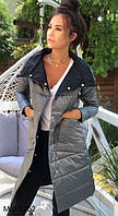 Женская стильная двусторонняя куртка Разные цвета