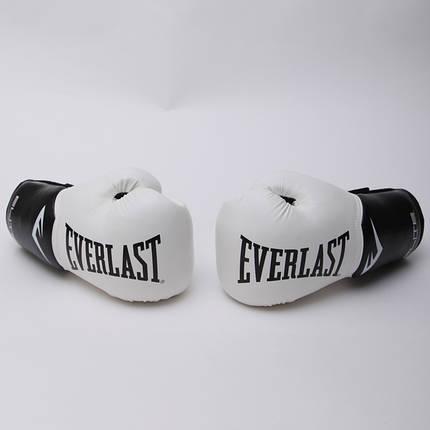 Перчатки боксерские PU на липучке EVERLAST P00001197 PRO STYLE ELITE, фото 2