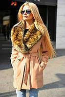 Женское модное зимнее пальто  ВХ8082 (норма), фото 1
