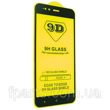 Защитное стекло Xiaomi Mi A1, Mi5x Full Glue (Black), фото 2