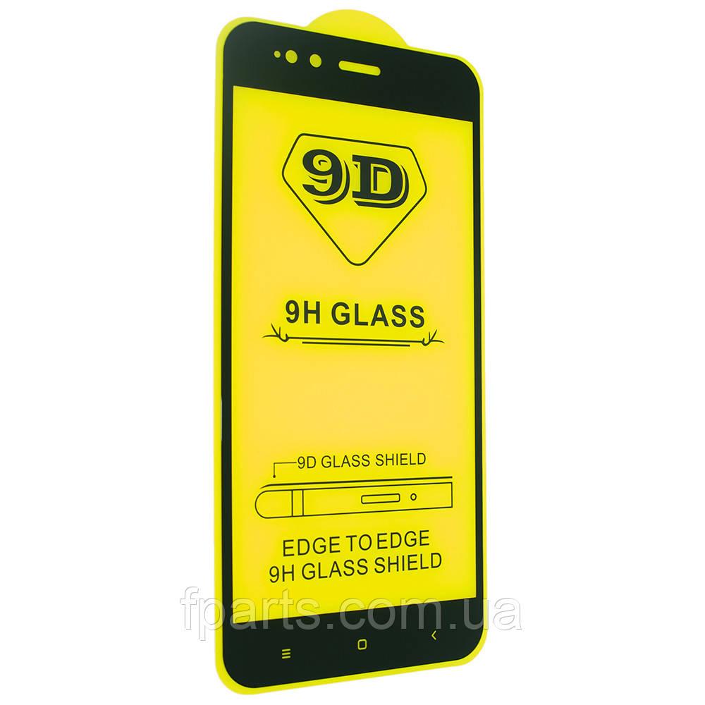 Защитное стекло Xiaomi Mi A1, Mi5x Full Glue (Black)