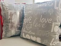 "Подушка ""Love is"" - холлофайбер, 70x70"