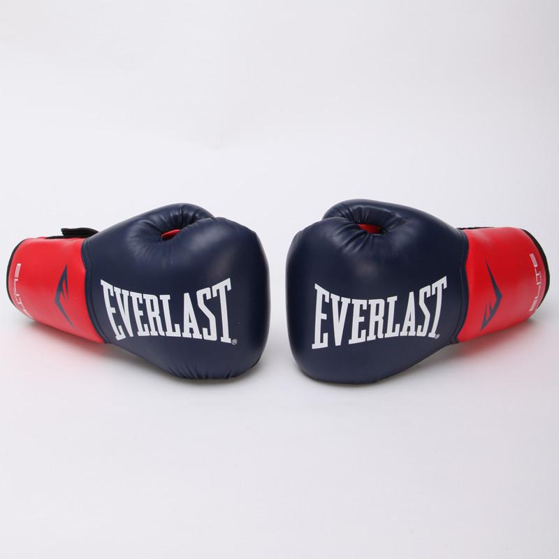 Перчатки боксерские PU на липучке EVERLAST P00001204 PRO STYLE ELITE