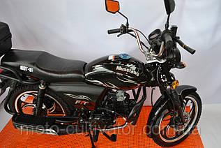 Мотоцикл Musstang Alfa New MT125-8 черный