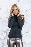 Ангоровая женский свитер под горло