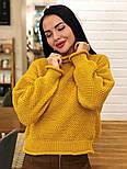 Жіночий стильний базовий вовняний светр (в кольорах), фото 2