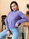 Женский стильный базовый шерстяной свитер (в расцветках), фото 4