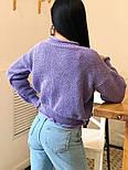 Женский стильный базовый шерстяной свитер (в расцветках), фото 3