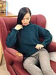 Женский стильный базовый шерстяной свитер (в расцветках), фото 5