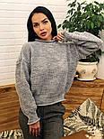 Женский стильный базовый шерстяной свитер (в расцветках), фото 7