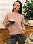 Женский стильный базовый шерстяной свитер (в расцветках), фото 8
