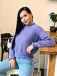 Жіночий стильний базовий вовняний светр (в кольорах), фото 9