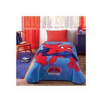 Детский плед 160х220см., с мультяшными героями. Человек Паук Tac Spiderman ultimate