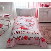 Детский плед 160х220см., с мультяшными героями Hello Kitty Tac