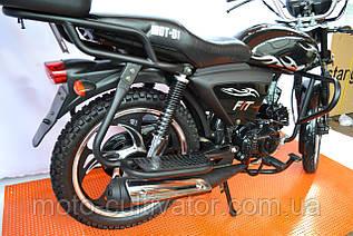 Мотоцикл Musstang Alfa New MT125-8 красный