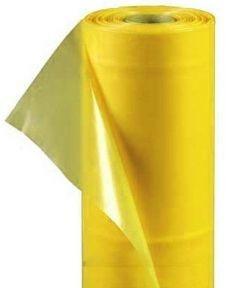 Тепличная пленка 80 мкм 6х50м стабилизатор 12 мес. желтый