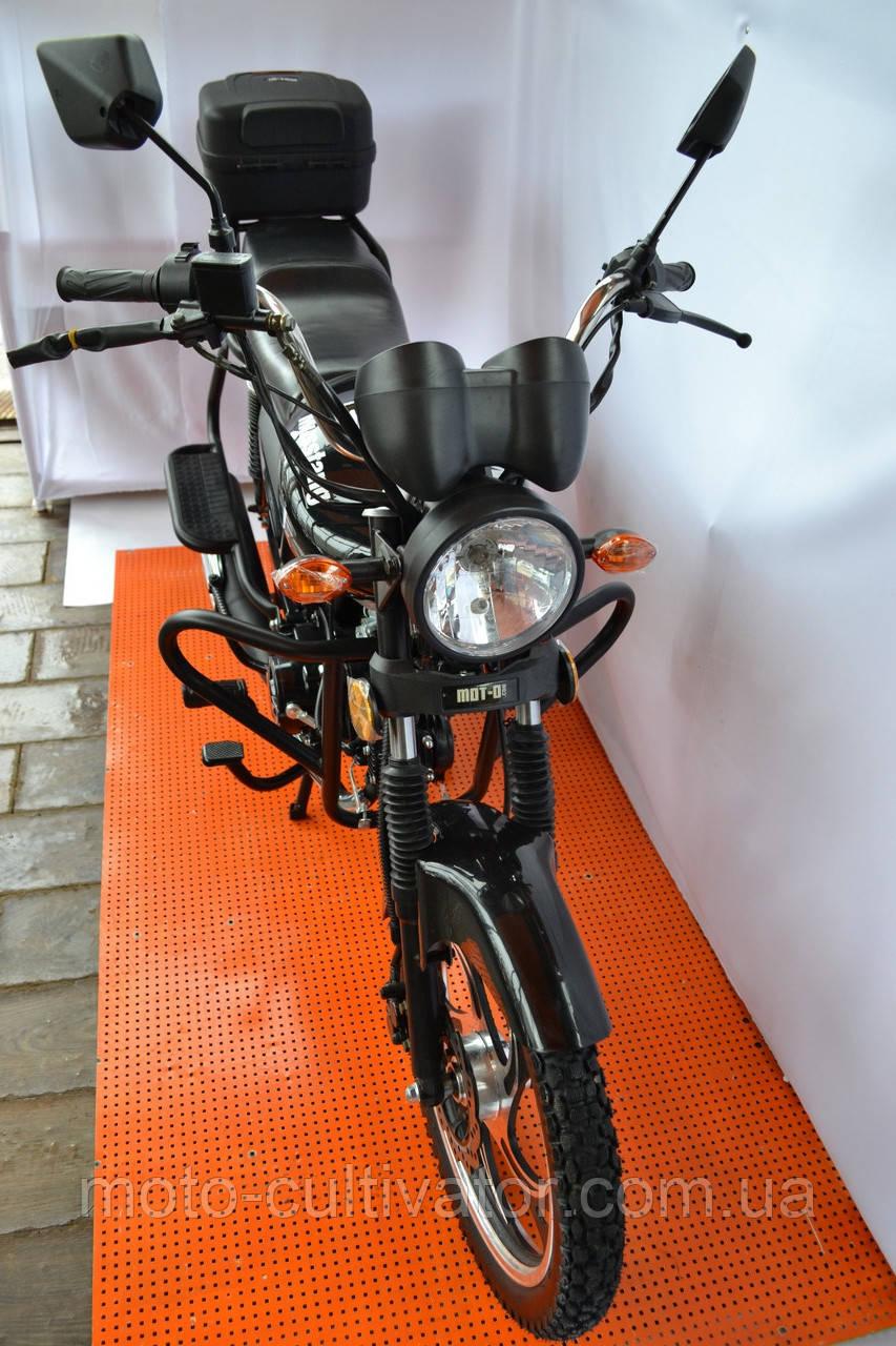 Мотоцикл Musstang Alfa New MT125-8 серый