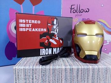Детская колонка шлем Железный человек Bluetooth-динамик